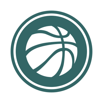 The Physical Education Logo: A blue-green circle overlaid by a white basketball.