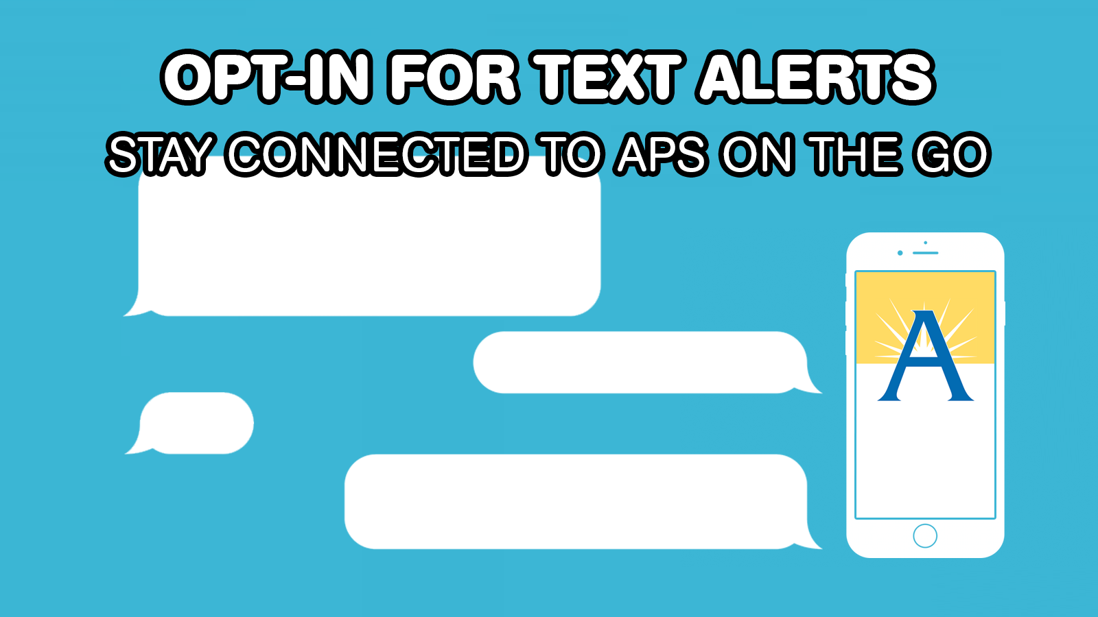 Opt-In for APS Text Alerts