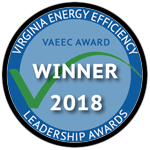 Virginia Energy Efficiency Leadership Award 2018
