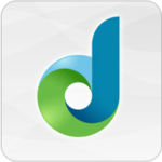 The Dreambox icon, a stylized letter D in blue and green.