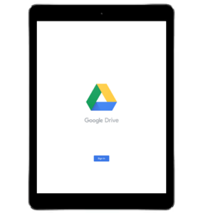 Google Drive Sign In 1
