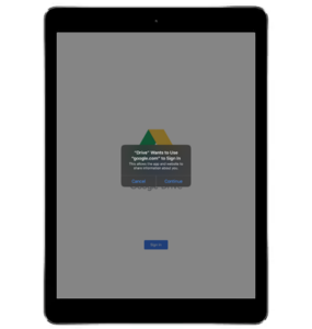 Google Drive Sign In 2