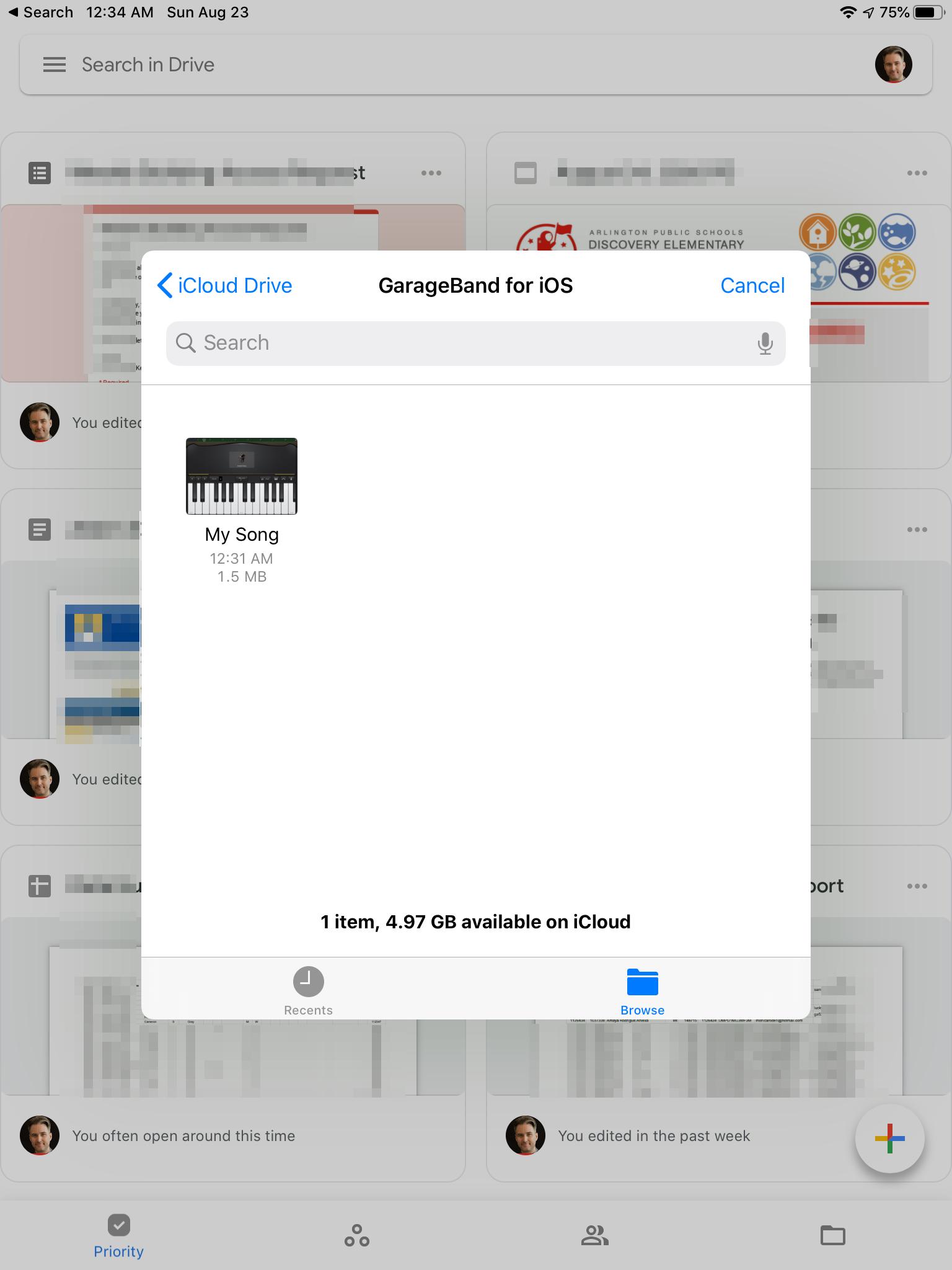 Загрузка на Google Диск 4