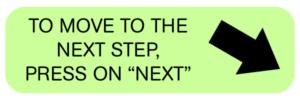 Чтобы перейти к следующему шагу, нажмите «Далее»