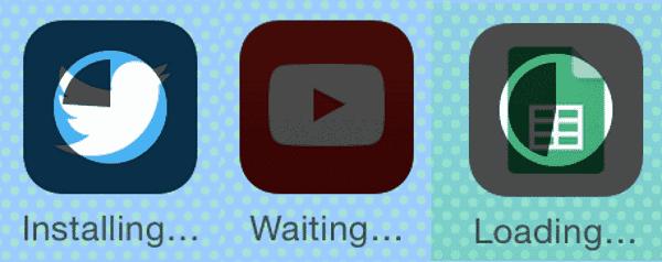 iOS Apps Stuck