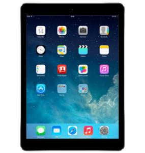 iPad displaying the Home Screen