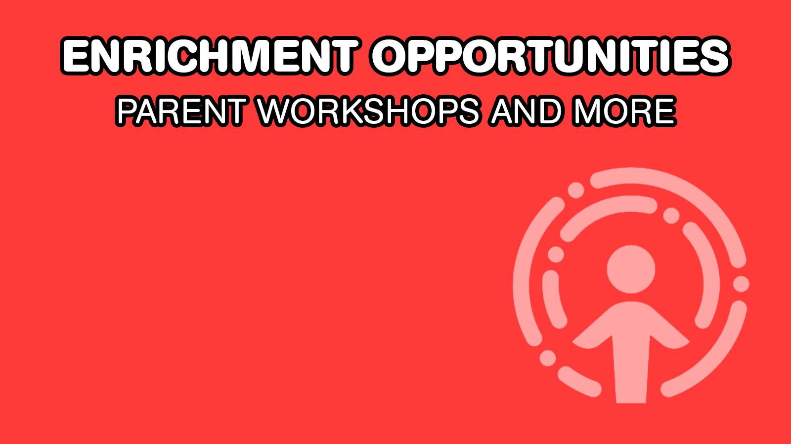Upcoming Parent Workshops